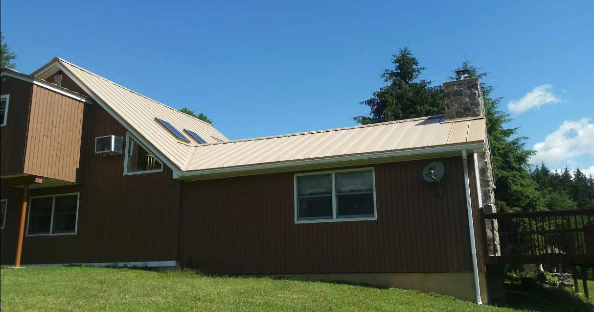 Advantage Lok II Metal Roof - Sahara Tan